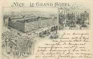 "06 Alpe Maritime CPA FRANCE 06 ""Nice, Le Grand Hôtel"""
