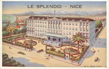 """CPA FRANCE 06 """"Nice, Le Splendid"""""""
