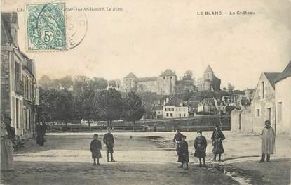 "/ CPA FRANCE 36 ""Le Blanc, le château"""