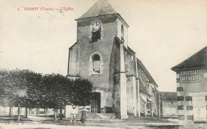 """CPA FRANCE 89 """"Ormoy, l'Eglise"""""""