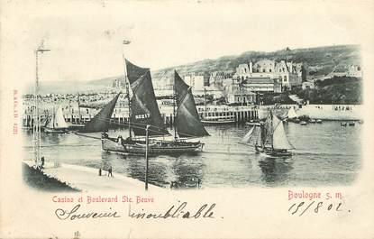 """CPA FRANCE 62 """"Boulogne sur Mer, bld sainte beuve"""""""