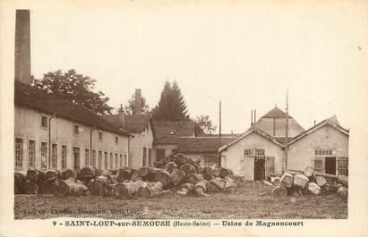 """CPA FRANCE 70 """"Saint Loup sur Semouse, Usine de Magnoncourt"""""""