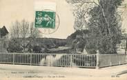 """89 Yonne CPA FRANCE 89 """" Chablis, vue sur le Serein"""