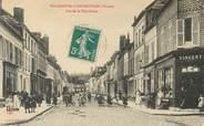 """89 Yonne CPA FRANCE 89 """" Villeneuve l'Archevêque, rue de la République"""""""