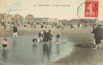 """CPA FRANCE 62 """"Berck, la plage à marée basse"""""""