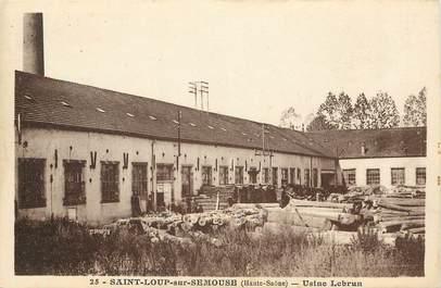 """CPA FRANCE 70 """"Saint Loup sur Semouse, Usine Lebrun"""""""