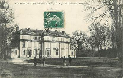 """/ CPA FRANCE 62 """"La Calotterie, le château de Monthuis"""""""