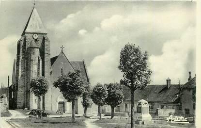 """CPA FRANCE 89 """" Villemanoche, place de l'Eglise"""""""
