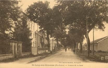 """CPA FRANCE 70 """"Saint Loup sur Sémouse, avenue de la gare"""""""