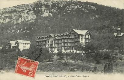 "CPA FRANCE 06 ""Thorenc, Hôtel des Alpes"""