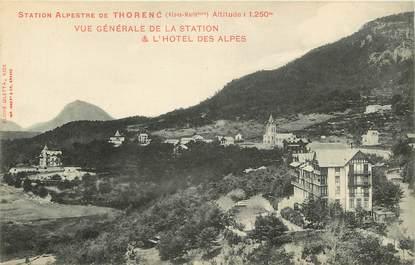 """CPA FRANCE 06 """"Thorenc, vue générale de la station et Hotel des Alpes"""""""