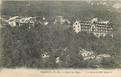 "CPA FRANCE 06 ""Thorenc, L' Hôtel des Alpes"""