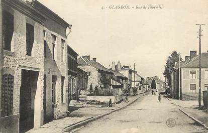 """/ CPA FRANCE 59 """"Glageon, rue de Fourmies"""""""