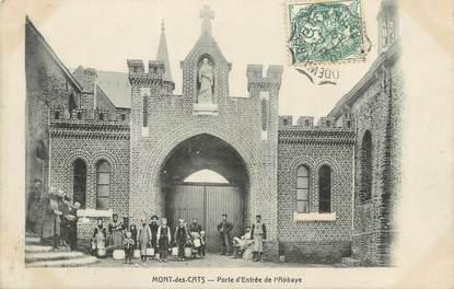 """/ CPA FRANCE 59 """"Mont des Cats, porte d'entrée de l'Abbaye"""""""