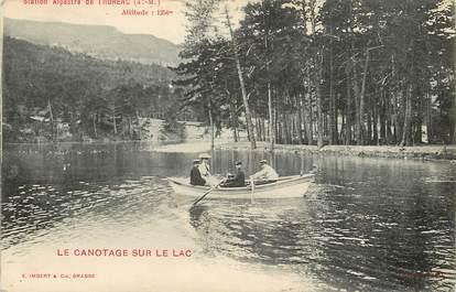 """CPA FRANCE 06 """"Thorenc, le canotage sur le lac """""""