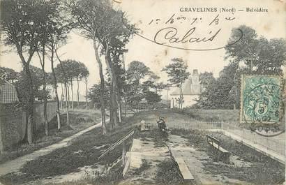 """/ CPA FRANCE 59 """"Gravelines, Belvédère"""""""