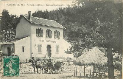 """CPA FRANCE 06 """"Thorenc, maison cantonnière, Au col de Bleine """""""
