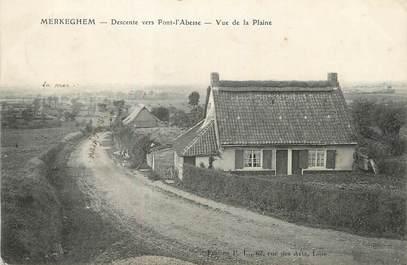 "/ CPA FRANCE 59 ""Merckeghem, descente vers Pont l'Abesse"""