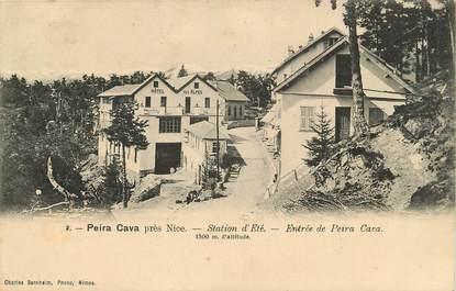 """CPA FRANCE 06 """"Peira Cava, station d'été, entrée de la ville"""""""