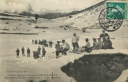 "CPA FRANCE 06 ""Peira Cava, sports d'Hiver, la luge"""