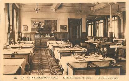 """CPA FRANCE 59  """" Saint Amand les Eaux, l'Etablissement Thermal, la salle à manger"""""""