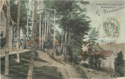 """CPA FRANCE 06 """"Peira Cava, entrée du Parc"""""""