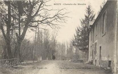 "/ CPA FRANCE 51 ""Bouy, chemin du moulin"""