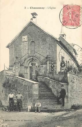 "CPA FRANCE 52 ""Chancenay, l'Eglise"""