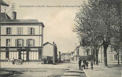 """/ CPA FRANCE 51 """"Mourmelon le Grand, entrée de la rue du Maréchal Foch"""""""