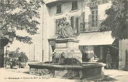 """CPA FRANCE 56 """"Quiberon, statue de mme de Sévigné"""""""