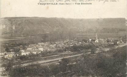 """CPA FRANCE 52 """"Vecqueville, vue générale"""""""