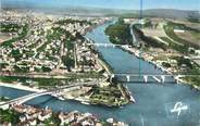 """78 Yveline CPSM FRANCE 78 """"Conflans Sainte Honorine, confluent de la Seine et de l'Oise"""""""