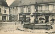 """51 Marne / CPA FRANCE 51 """"Vertus, place du marché"""""""
