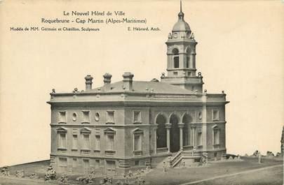 """CPA FRANCE 06 """"Roquebrune Cap Martin, le nouvel Hotel de ville"""""""