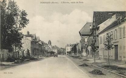 """/ CPA FRANCE 51 """"Dormans, route de Paris"""""""