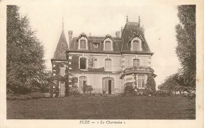 """CPA FRANCE 72 """"Flée, la Charmoise"""""""