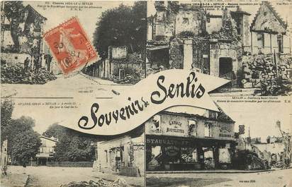 "CPA FRANCE 60 ""Souvenir de Senlis"""