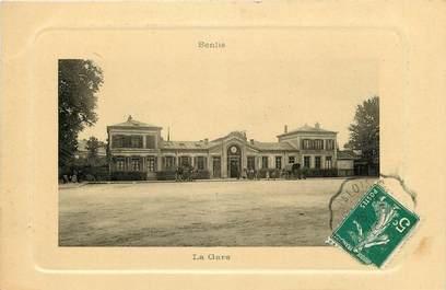"""CPA FRANCE 60 """"Senlis, La gare"""""""