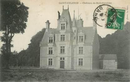"""CPA FRANCE 72 """"Saint Célerin, chateau de Bois Doublet"""""""