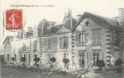 """CPA FRANCE 72 """" Savigné l'Evêque, le Rocher"""""""