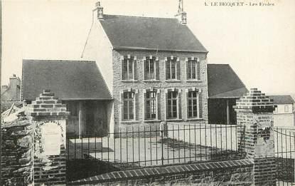 "CPA FRANCE 50 ""La Becquet, Les Ecoles"""
