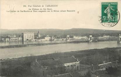 "CPA FRANCE 13 ""Tarascon, vue générale"""