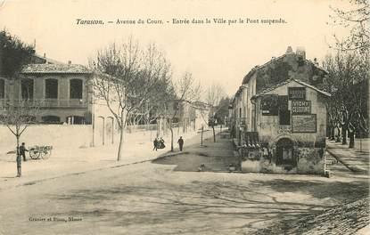 "CPA FRANCE 13 ""Tarascon, avenue du cours"""