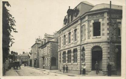"CARTE PHOTO FRANCE 50  ""Villedieu les Poeles"""