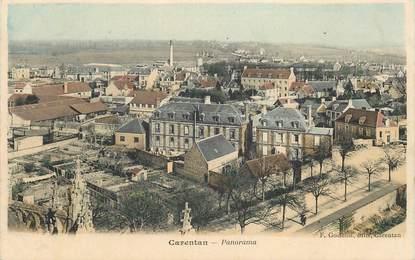 "CPA FRANCE 50 ""Carentan, panorama"""