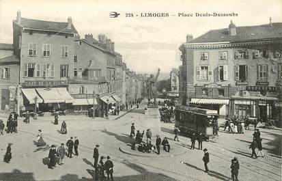 "CPA FRANCE 87 ""Limoges, Place Denis Dussoubs"""