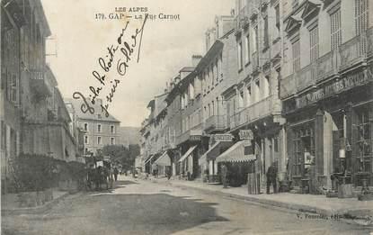 "/ CPA FRANCE 05 ""Gap, la rue Carnot"""