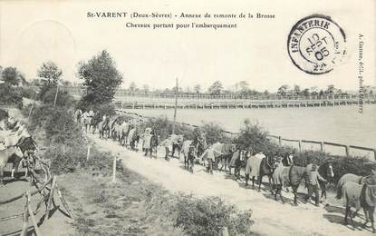 """CPA FRANCE 79 """"Saint Varent, annexe de Remonte de la Brosse"""""""