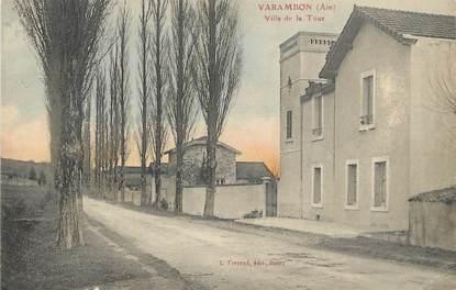 "/ CPA FRANCE 01 ""Varambon, villa de la tour"""