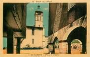 """81 Tarn CPA FRANCE 81 """"Réalmont, place de l'Eglise"""""""